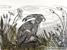 Hare in the Landscape